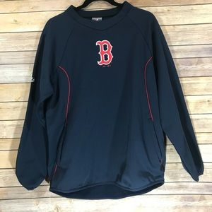 Boston RedSox pull over jacket w/pockets
